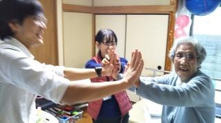 K様ハイタッチ.JPG